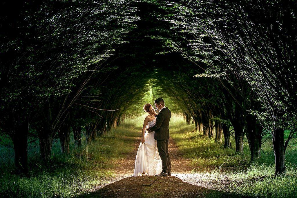 Eleonora e Marco Fotografo di Matrimonio a Villa Iachia
