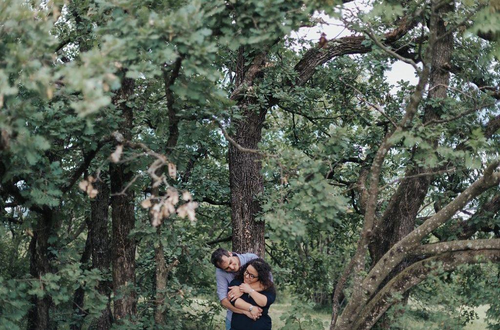 Roberta e Mauro – Servizio Fidanzati in Carso