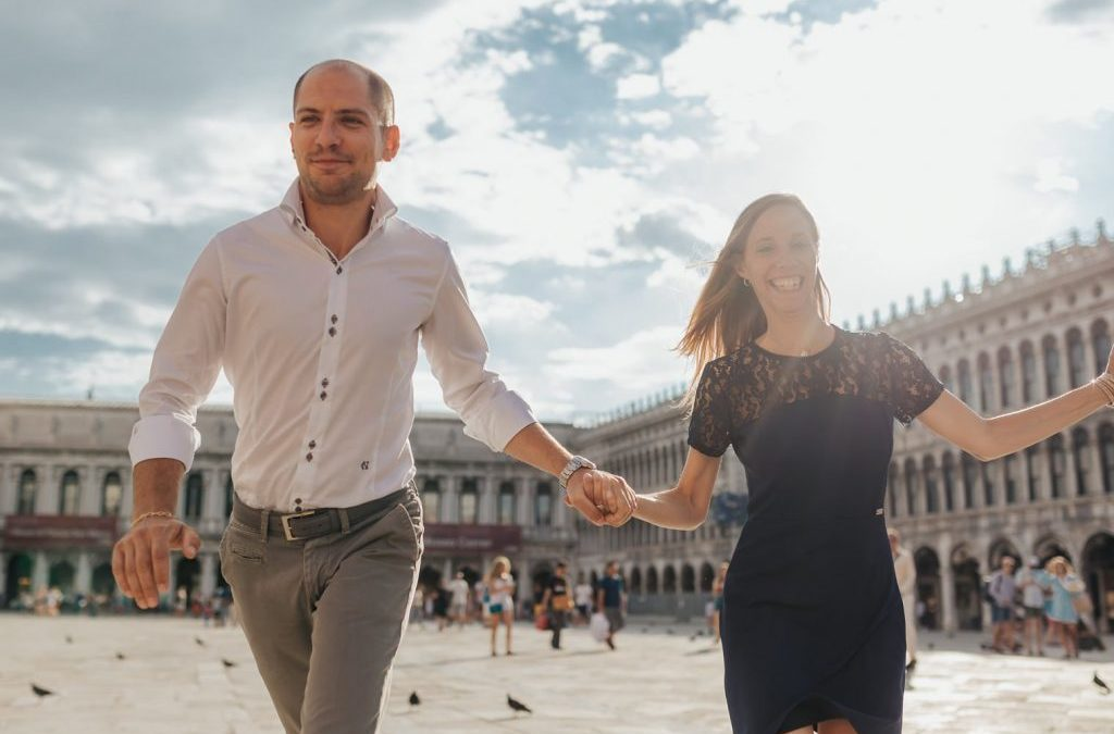 M+R – Servizio Fotografico Prematrimoniale a Venezia