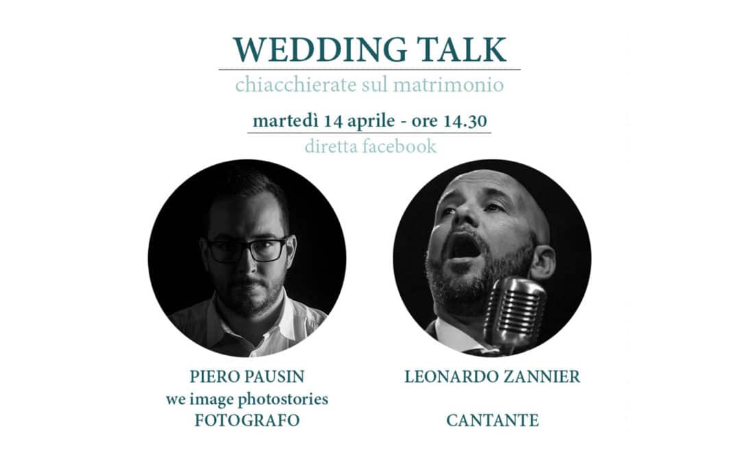 Wedding Talk – Leonardo Zannier