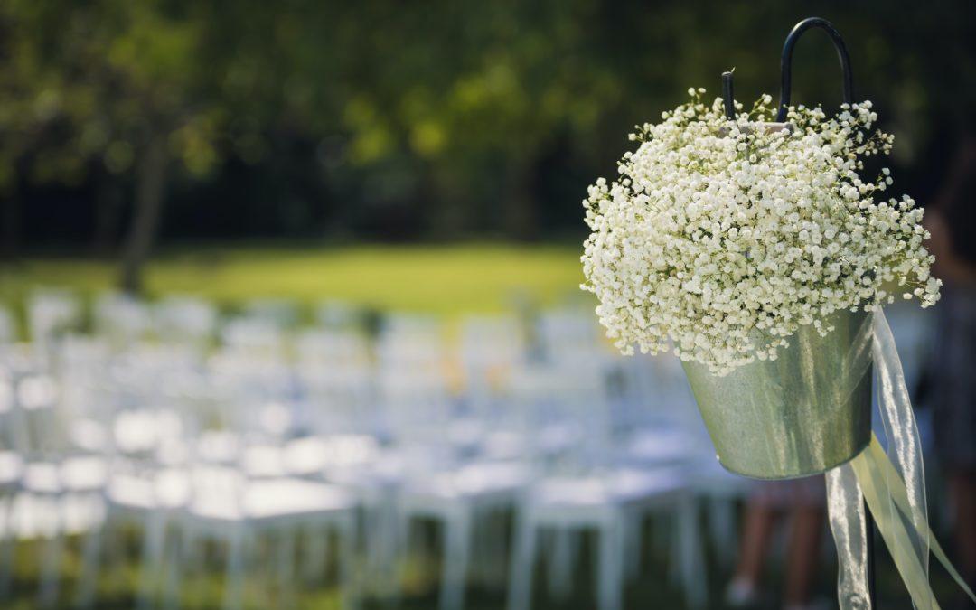 5 buoni motivi per sposarsi all'aperto
