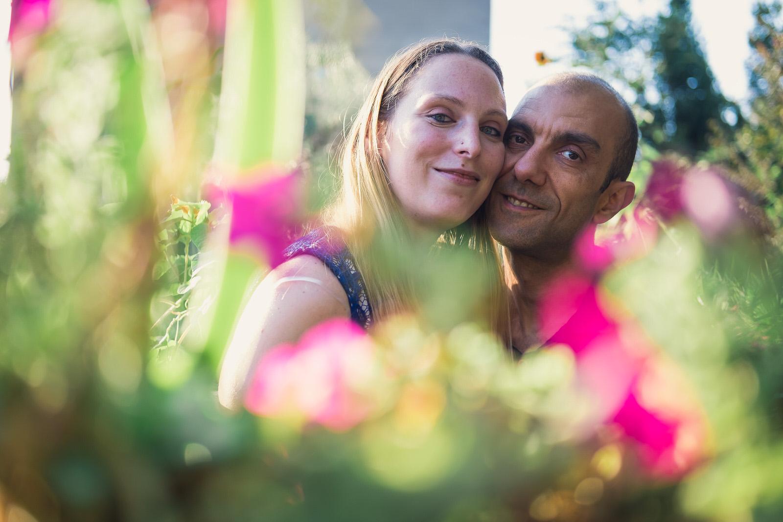 foto coppia giardino san michele trieste