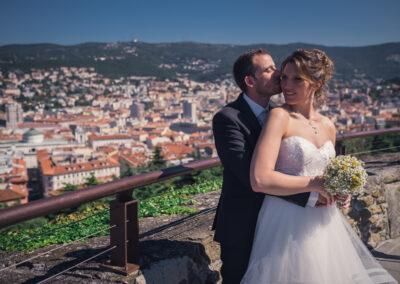 matrimonio castello di san giusto trieste